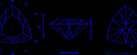 Novice Cushion Triangle