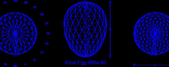 Rose Egg 480a-80