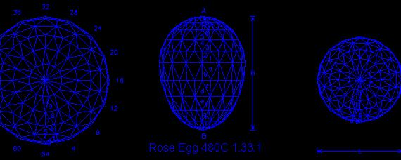 Rose Egg 480c-64 1.33:1